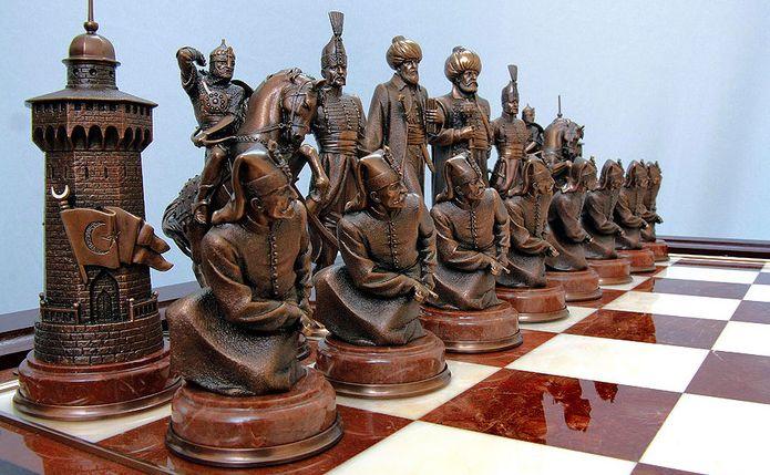 Уменьшено шахматы