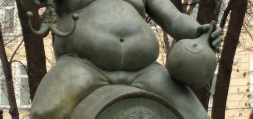 «Алкоголизм». Одна из фигур скульптурной композиции Михаила Шемякина «Дети — жертвы пороков взрослых» (Москва, Болотная площадь).